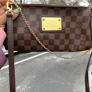Small crossbody Louis Vuitton Damier Ebene bag